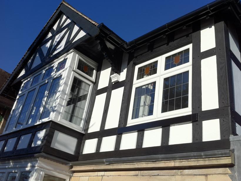 Mock Tudor Planks
