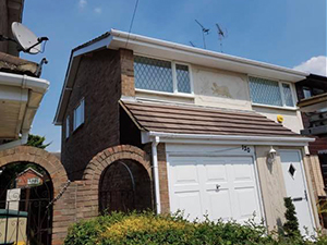 Replacement of timber fascias and soffits with UPVC Fascias and soffits in South Benfleet Essex